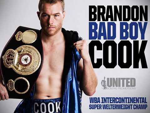 Brandon Cook WBA champ