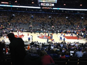 NBA Action with the Raptors!