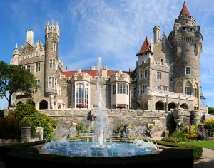 Casa Loma….a Castle in the middle of Downtown Toronto