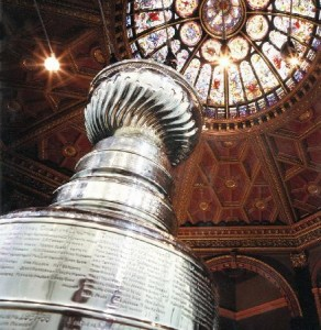 Kiss Lord Stanley's Cup!