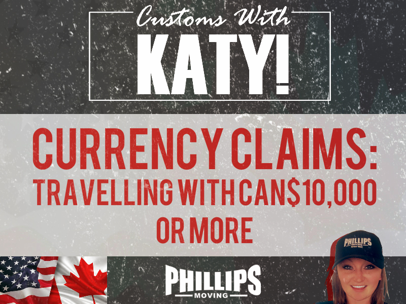 Currency Claims: Travelling With CAN$10,000 Or More