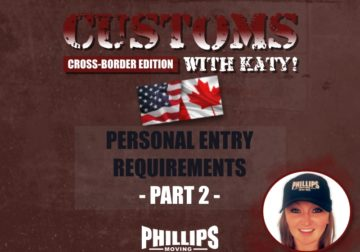 Personal Entry Requirements Part 2