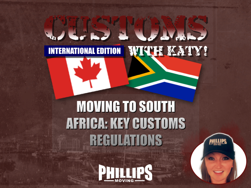 Moving to South Africa – Key Customs Regulations