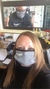 Face coverings prevent COVID-19 spread